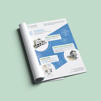 Création d'une 3e de couverture pour Ecobome