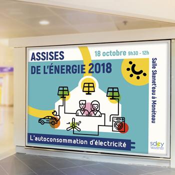 Création d'une campagne d'affichage pour le SDEY