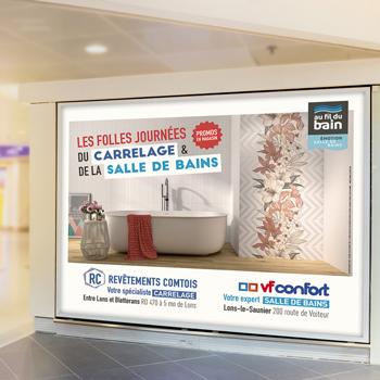 Création d'une campagne d'affichage pour VF Confort
