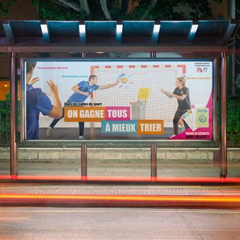 Création d'une campagne d'affichage pour le Sybert
