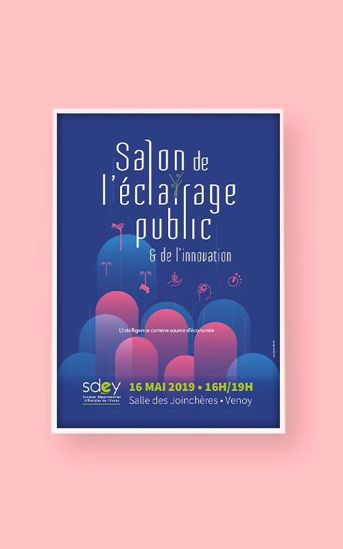 Création d'une affiche pour le SDEY