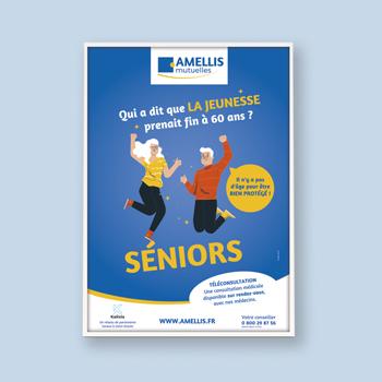 Création d'une affiche pour AMELLIS Mutuelles