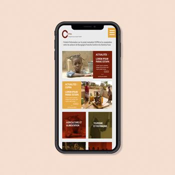 Création d'une application mobile pour Copra
