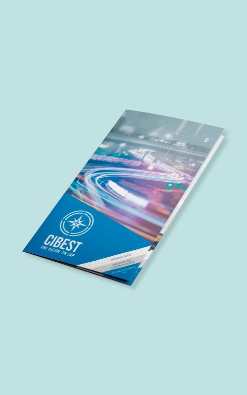 Création d'une brochure pour le Cibest