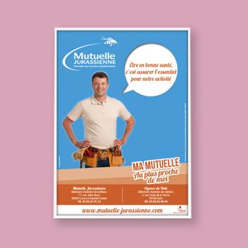 Création d'une affiche pour la Mutuelle Jurasienne