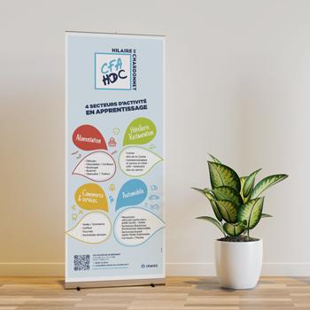 Création d'un support evenementiel pour le CFA Hilaire de Chardonnet