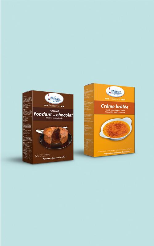 Création de packaging pour AGRODOUBS