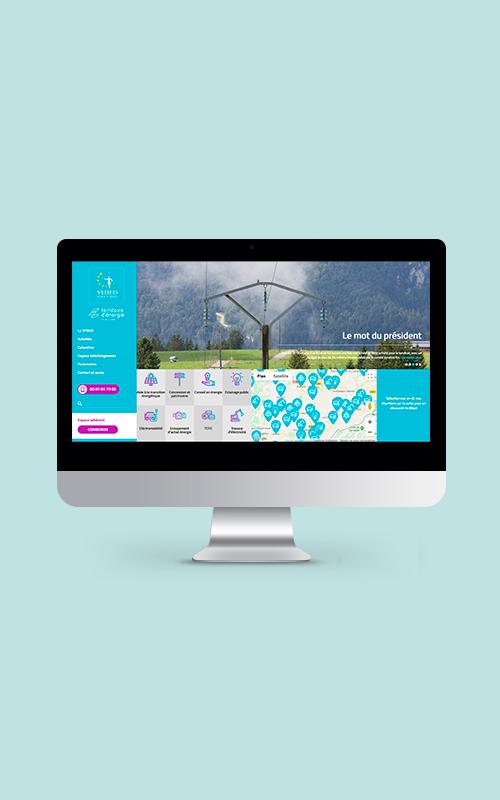 Création d'un site internet pour le SYDED