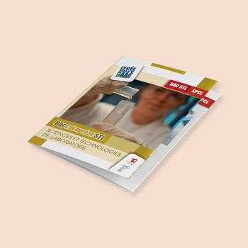Création de support print : fiche filière pour le lycée Jules Haag