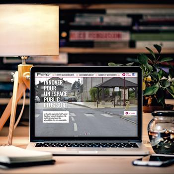 Création du site internet de Pieto