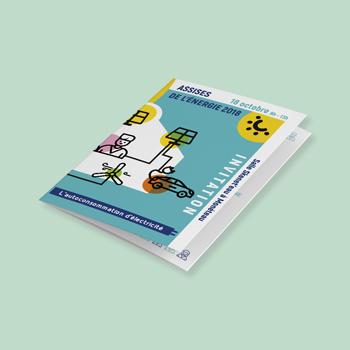 Création d'un support print pour les ASSISES de l'énergie 2018