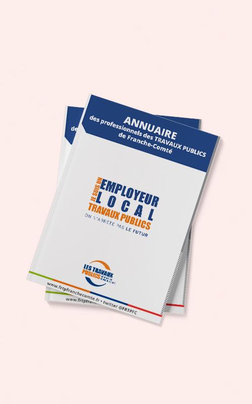 Création d'un annuaire pour la FRTP de Franche Comté