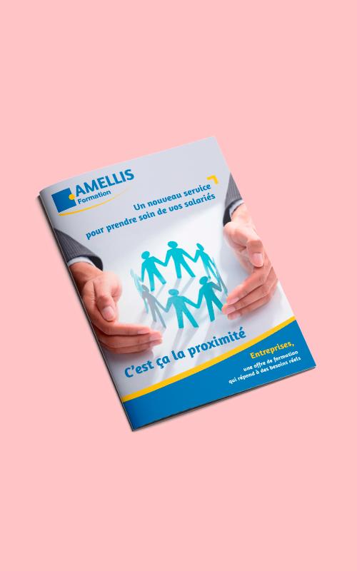 Création d'un livret de formation pour Amellis Mutuelles