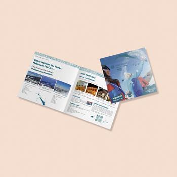 Création d'un livret pour la station de ski Metabief