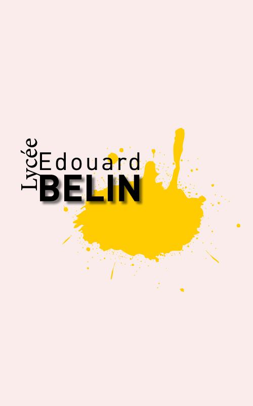 Création d'un logo pour le lycée Edouard Belin