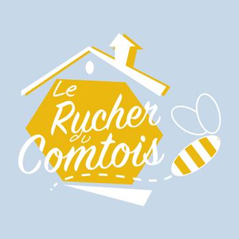 Création d'un logo pour le Rucher du Comtois
