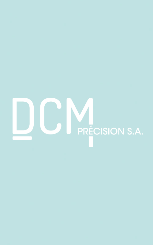 Création d'un logo pour DCM Précision