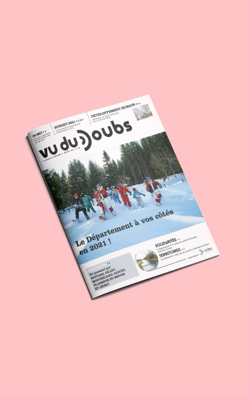 Création du magazine Vue du Doubs