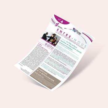 Création d'un magazine pour la ville de Dole