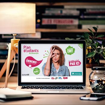 Création d'un site internet pour le Plan des étudiants de Besançon