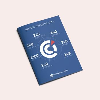 Création d'un rapport d'activité pour la CCI de Franche-Comté