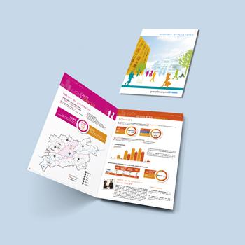 Création d'un rapport d'activité pour le Grand Besançon Habitat