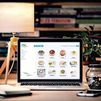 Création d'un site web pour les Pâturages Comtois