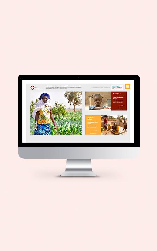 Création d'un site internet pour Copra