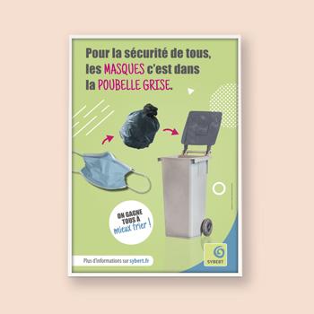 Création de campagne publicitaire pour le SYBERT