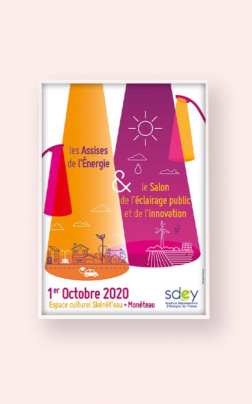 Création d'une affiche print pour le SDEY
