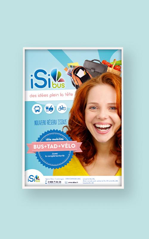 Création d'une affiche pour Isibus